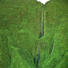 Honokohau Falls @ Maui   I need to find myself here.....sooner than later!