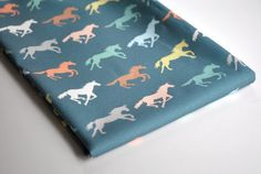 Hey, I found this really awesome Etsy listing at http://www.etsy.com/listing/100648191/gallop-horse-fabric-original-fabric-fat