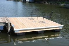 Build your own Swimming Dock. http://extremehowto.com/build-your-own-swimming-dock/  weekend project that gave us a new place to kick back, relax and drop a fishing line in the water.