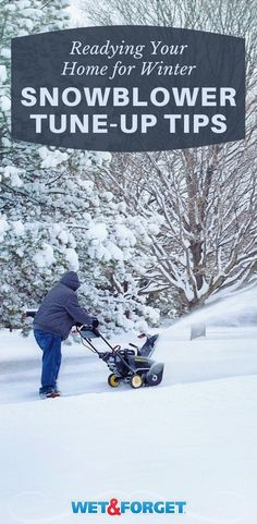 Aside from a snowblower, there are several alternatives to ridding your home of snow. Here's a few tips on snowblower maintenance and additional ways to remove snow. Safety Kit, Home Safety, Winter Survival, Winter Storm, Snow And Ice, Severe Weather, Home Repair, Beautiful Homes