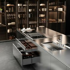 Do you have a small kitchen area in your house? Are you confused how to arrange … Do you have a small kitchen area in your house? Are you confused how to arrange all the kitchen utensils and kitchen elements in your limited kitchen area? Interior Ikea, Interior Simple, Interior Modern, Home Interior, Interior Decorating, Modern Interiors, Luxury Interior, Decorating Ideas, Decorating Websites