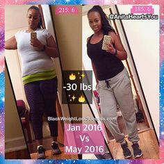 Anita lost 50 pounds in a little over 5 months and lost 106 pounds since 2007.