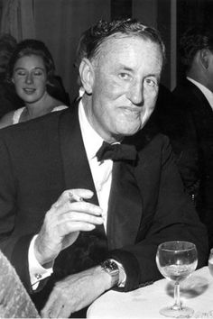 Ian Fleming author and creator of James Bond 007 Casino Royale, James Bond Images, 1960s Tv Shows, Joseph Heller, Bond Series, James Bond Movies, Thing 1, Margaret Atwood, Sean Connery