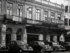 Cinemas de Curitiba - Cine Odeon década de 40