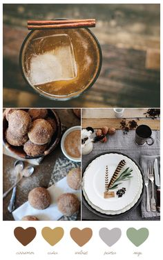 Color Palette: Cinnamon + Cider