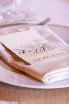 de boda con maron mesa bajoplatos sevilleta campestre minuta acualera finca antigua fabrica de harinas madrid