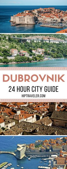 The perfect guide to exploring Dubrovnik in a day. Walk along the historic walls, wander through old town, and enjoy the local cuisine at the best restaurants. Things to do and see in Croatia. | Blog by HipTraveler #Dubrovnik #Croatia