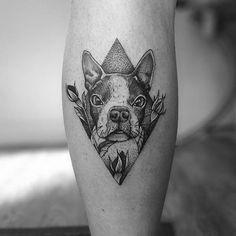 Tatuaje tributo a una querida mascota.