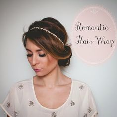 Quick and Easy, Romantic Hair Wrap Tutorial | La Petite Noob