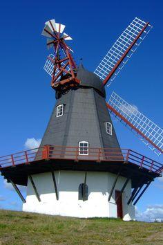 Sønderho Wind Mill, Island Fanø, Denmark