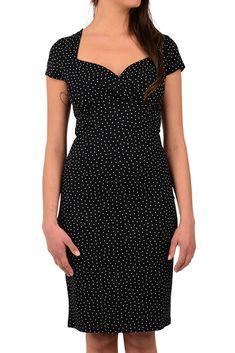 Perry klänning little dots svart