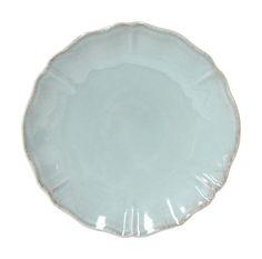 COSTA NOVA Alentejo collection. Dinner plate. Turquoise.