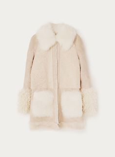 Uterqüe Finland Product Page - Ready to wear - View all - Beige double-sided coat - 1150
