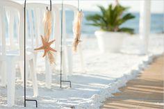 seashell wedding ideas ,,,maybe with large sanddollars