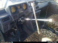 Russian Steering Wheel