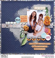 "24 Likes, 2 Comments - Chrissy Tingey (@merlyimpressions) on Instagram: ""Layout created by @emmystammler for Merly Impressions using the gorgeous Havana Nights Kaisercraft…"""
