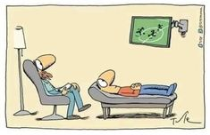 Lunes con #humor: #psicología + #futbol Cure, Mental Health Humor, Psychology Humor, Coaching, Spanish Humor, Funny Phrases, Humor Grafico, Laughter, Family Guy
