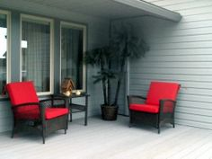 customer photo custom deep seating chair cushions made with sunbrella