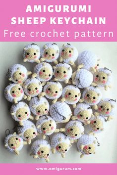 Crochet Keyring Free Pattern, Crochet Elephant Pattern, Crochet Patterns Amigurumi, Crochet Dolls, Crochet Blanket Patterns, Amigurumi Tutorial, Knitting Patterns, Kawaii Crochet, Cute Crochet