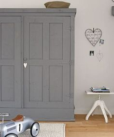 Skipperwood Home Win Award & Grey & Grays for Your Home - Beautiful Interiors & Accessories Furniture, Room, Interior, Painted Furniture, Home, Home Bedroom, Bedroom Cupboards, Room Inspiration, Painted Wardrobe
