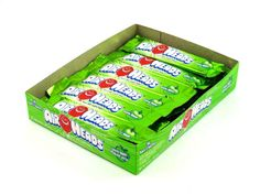$6.99 | http://sanduskycandy.com/candy-colors/green-candy/Airheads-Green-Apple-0.55-oz-bar-box-of-36.html