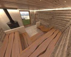 Bildergebnis für saunalava Arch Interior, Interior Architecture, Outdoor Sauna, Outdoor Decor, Modern Saunas, Halle, Sauna Design, Finnish Sauna, Spa Rooms