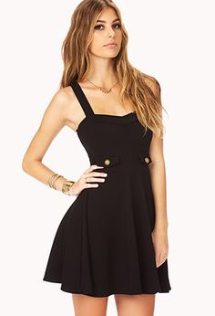 I seriously love this fit and flare dress from Cute Dresses, Short Dresses, 21 Dresses, Dress Outfits, Cute Outfits, Sweetheart Dress, Chic Dress, Fit Flare Dress, Fashion Pictures