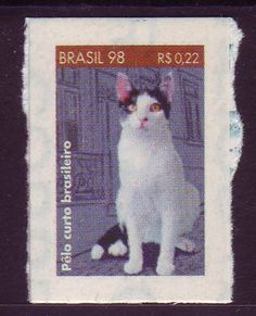 Brazil - 1998 (Imperforate, self-adhesive stamp) -preciso