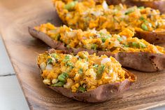 Samosa Stuffed Sweet Potatoes and other delicious recipes like Guinness Pretzel Truffles!