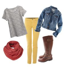 i need yellow pants