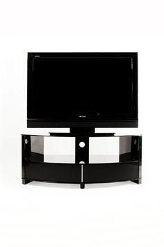 "Optimum Preview Gloss Black TV Stand upto 55"" TVs"