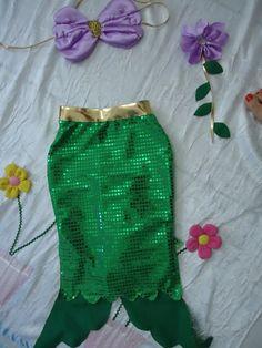 fantasia  sereia ariel Mermaid Theme Birthday, Elsa, Prince And Princess, Halloween, High Waisted Skirt, Costumes, Party, Clothes, Women
