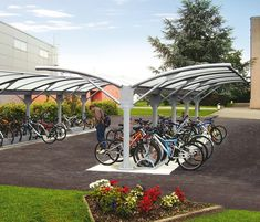 Bicycle shelters | Metalco | Alfredo Tasca. Bicycle shelters | Metalco | Alfredo Tasca. Click for details and visit the slowottawa.ca boards >> http://www.pinterest.com/slowottawa/