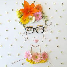 """""""Ava"""" Flower Face Pr"""