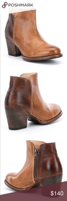 """Bed Stu Yell Booties Size 7 From Bed Stu, the Yell women's booties feature: leather upper with BFS finish slip-on styling for easy on/off leather lining leather outsole approx. 4"""" shaft height 2"""" heel Size 7 New, never worn! (Err but I don't think I have the original box, they've just sat in my closet!) Bed Stu Shoes Ankle Boots & Booties"""