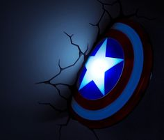 Captain America Shield 3D Night Light   Bagmyitems  #products #cool #CaptainAmerica #NightLight #thingsyoucanbuy Source: http://bagmyitems.com/product/captain-america-shield-3d-night-light