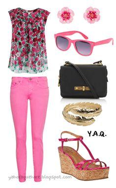 Y. A. Q. - Blog de moda, inspiración y tendencias: [Y ahora qué me pongo con] Unos pantalones rosados