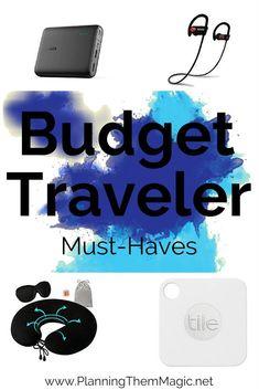 budget traveler must-haves Travel Advice, Travel Tips, Travel Destinations, Travel Ideas, Travel Hacks, Travel Packing, All Family, Family Travel, Best Travel Apps