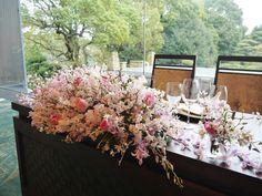 #james-tei #novarese#VressetRose #Wedding #pink #tablecoordinate#smokypink #natural #Flower #Bridal #ジェームス邸#ノバレーゼ#ブレスエットロゼ #ウエディング# ピンク #スモーキーピンク #シンプル#メインテーブル  #テーブルコーディネート #ナチュラル# ブライダル#結婚式#桜