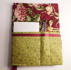 Check out Quilted Composition Notebook Cover - Journal - Diary - Recipes Book - Back to School - Writing Journal on belairevillage