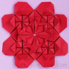 Mother's Day Card: New Origami Model and Video | Origami - Artis Bellus