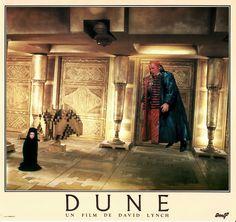 French Dune Lobby Card Alia (Alicia Roanne Witt) and the Baron Vladimir Harkonnen (Kenneth McMillan)
