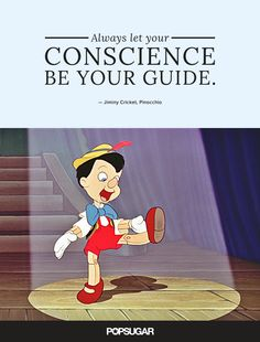 Love this quote from Pinocchio!