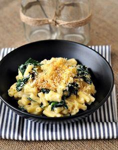 Spinach Cheese Pasta with Sauce Béchamel   #pasta #cheese #tuzubiberi