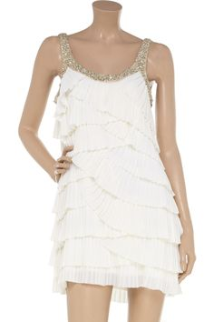 Rachel Gilbert  Keisha tiered georgette dress