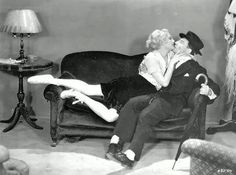 Buster Keaton and Thelma Todd in 'Speak Easily', 1932.