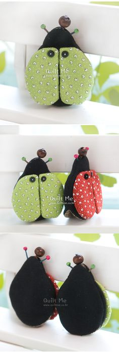 [Ladybug key chain (light green);