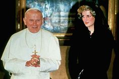 Princess Diana & the Pope