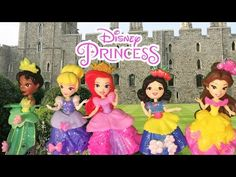 Unboxing Disney Little Kingdom Royal Sparkle Collection Tiana Belle Cinderella Ariel Snow White - YouTube Tiana, Ariel, Princess Videos, Princess Peach, Disney Princess, Best Kids Toys, Rapunzel, Cool Kids, Cinderella