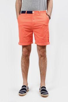 8e4a450721 Hixsept Magma Shorts Neon Orange Men s Spring Summer Fashion